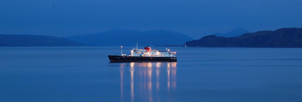 Photograph of a Hebridean Ship
