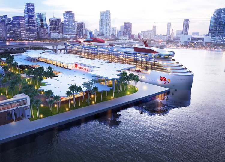 Virgin Voyages port in Miami
