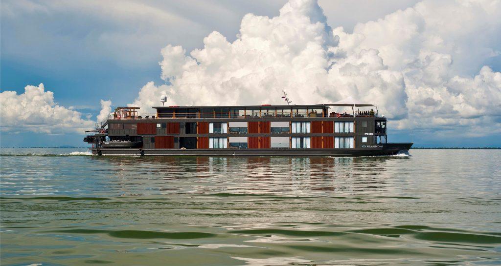 Photograph of Aqua Expeditions' ship Aqua Mekong